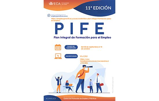 IMG 11º Plan PIFE/Orientación Profesional de la UCA Curso 2021/22