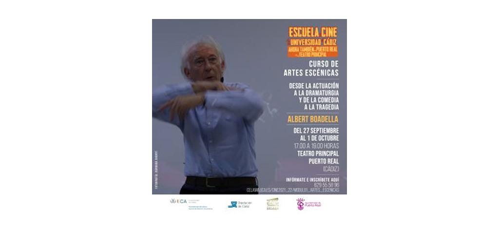 Albert Boadella imparte el módulo de 'Artes escénicas' de la Escuela de Cine