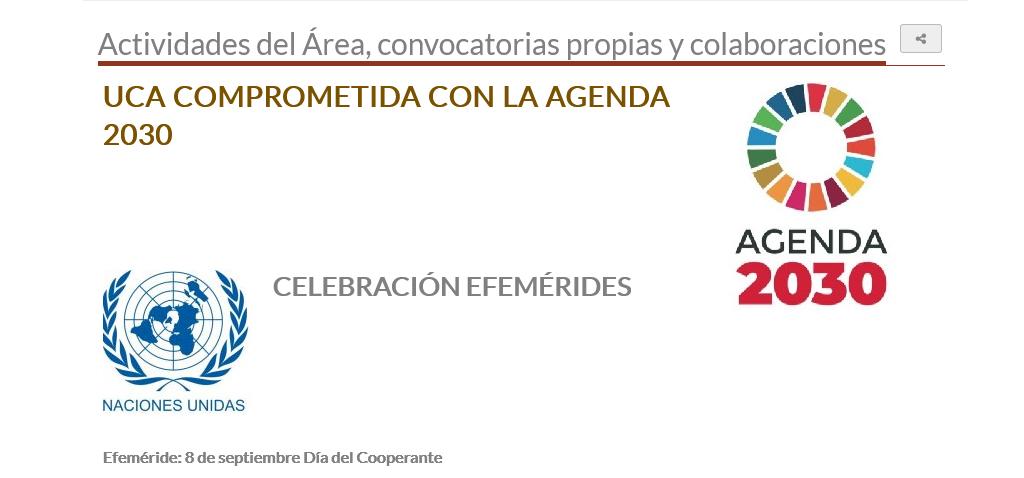 La Universidad de Cádiz conmemora el Día del Cooperante