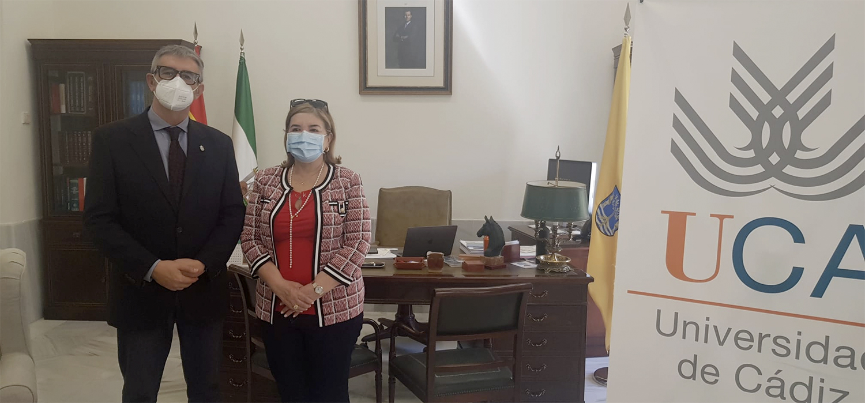 Visita institucional de la rectora de la UCENM de Honduras